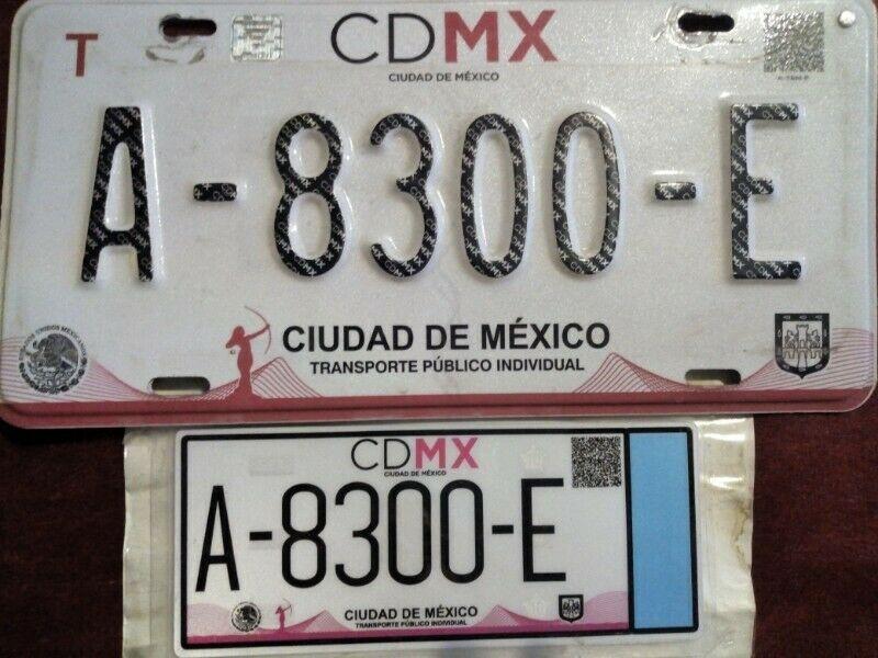 Venta de placas de taxi cdmx