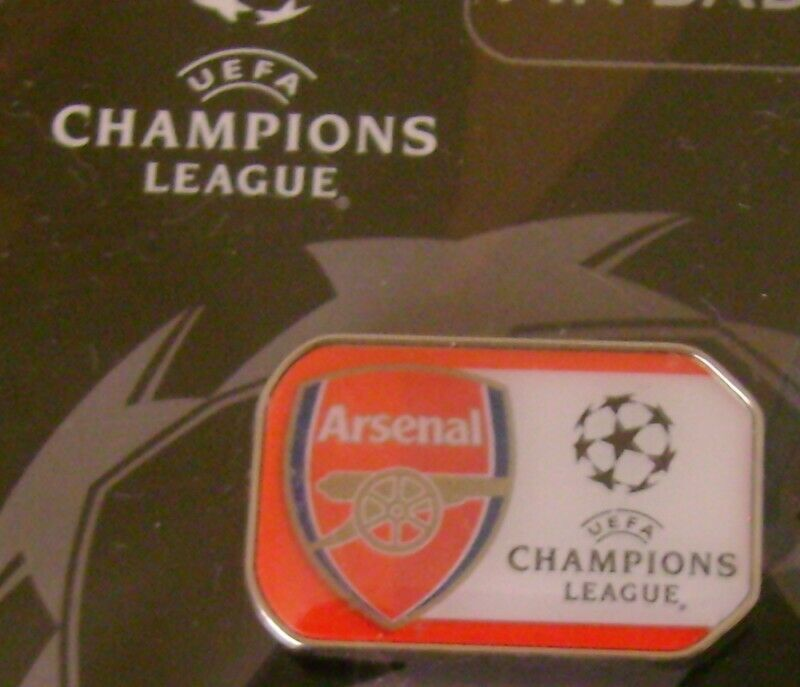 ARSENAL PIN UEFA CHAMPIONS LEAGUE INGLATERRA PREMIER EQUIPOS