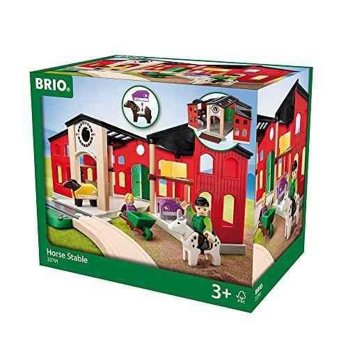 Brio 63379100 Caballo Estableble Playset