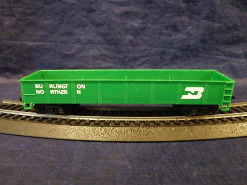 Burlington Northern Bachmann Vagon De Carga Verde Escala Ho