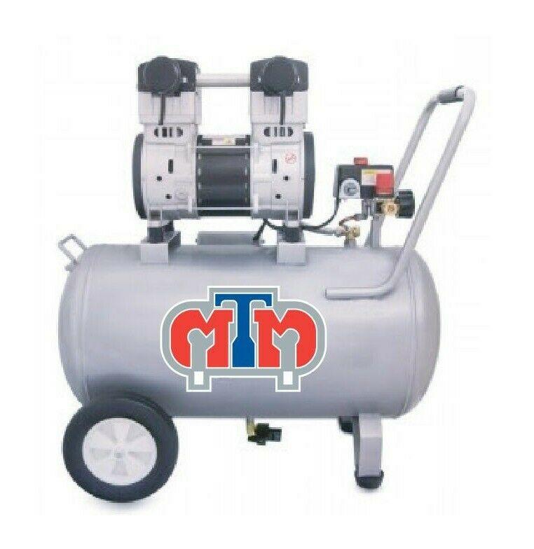 Compresor libre de aceite 1 hp tanque de 48 lts horizontal