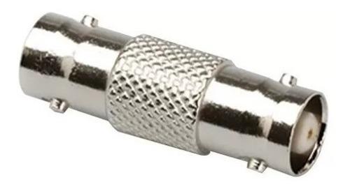 Conector Tipo Adaptador Doble Bnc Hembra Para Cable Coaxial