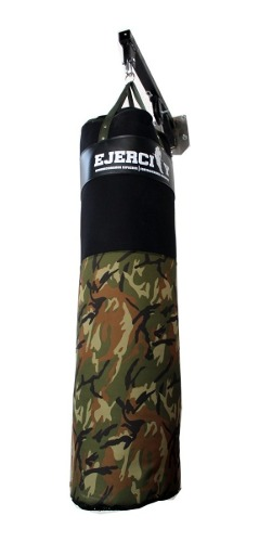 Costal De Boxeo Extra Grande (130 Cm) + Kit Para Colgar Box