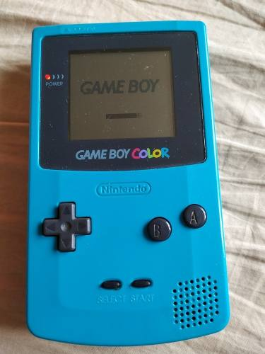Game Boy Color, Verde, Con Mochila, Buen Estado. $598