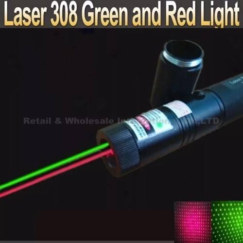 Laser Bicolor Verde Y Rojo Recargable  Mw Envio Gratis