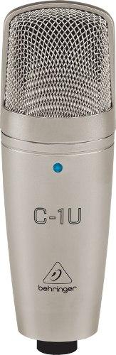 Microfono Condensador Usb Behringer C-1u Confirma