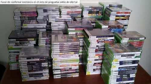 Paquete De 3 Juegos De Xbox 360 Para Escoger, Envio Gratis