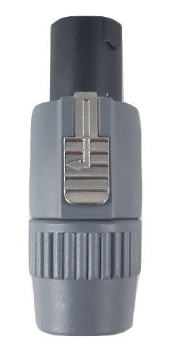 Plug Speakon Tipo Neutrick 4 Vías Harden Pl-356