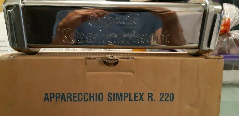 Remato cortador para maquina de pasta marca imperia