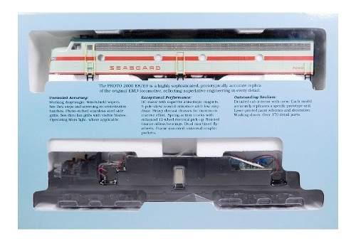 Set De Locomotoras E8a Y E6b Seaboard Escala Ho.