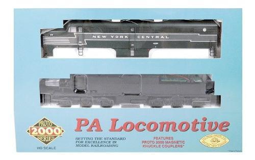 Set De Locomotoras Pa Y Pb De New York Central Escala Ho.