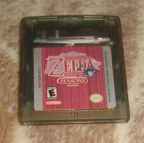 The Legend Of Zelda Oracle Of Seasons Para Gbc