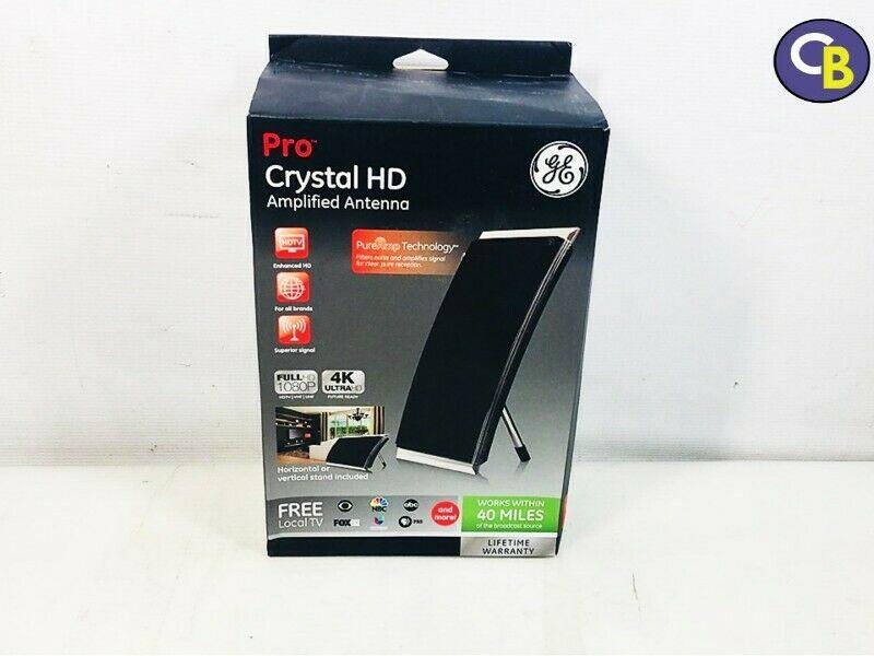 Antena amplificada Pro Crystal HD 40 millas