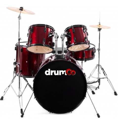 Ateria 5 Piezas Color Rojo Drumco Obelix-hc-rd