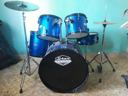 Batería Acústica, Star Drums 5pzas