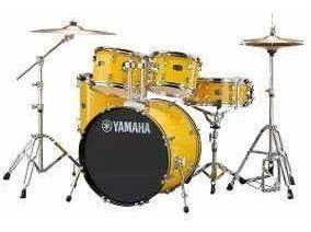 Batería Acústica Yamaha Rydeen Con Platillos Y Asiento