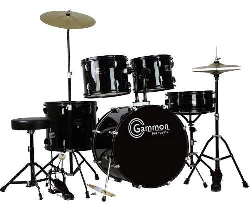 Batería Musical Gammon Percussion Juego Completo