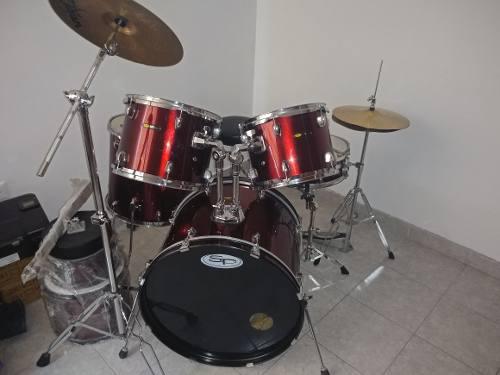 Batería Sound Percussion De 5 Piezas