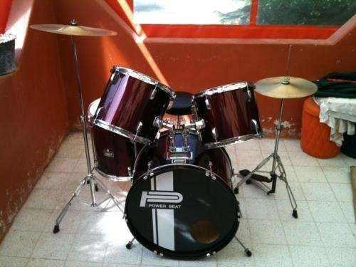 Bateria Acustica Adulto Power Beat