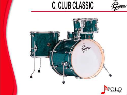 Bateria Gretsch S/stands Catalina Club Classic