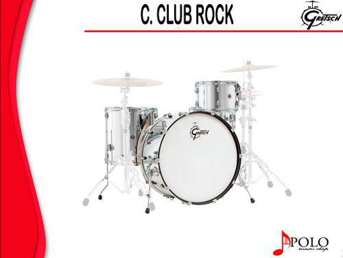 Bateria Gretsch S/stands Catalina Club Rock