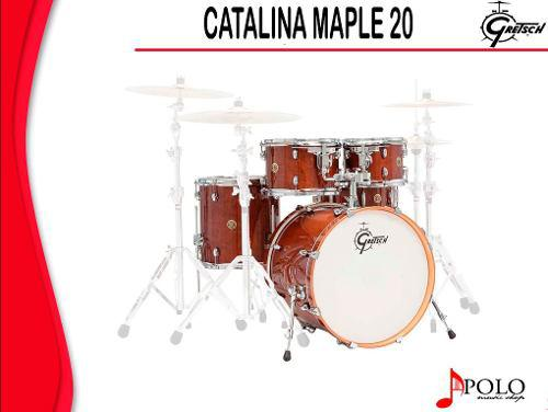 Bateria Gretsch S/stands Catalina Maple 20