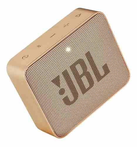 Bocina Jbl Go 2 Bluetooth Champagn Metalica A Prueba De Agua