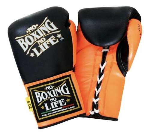 Guantes Box Entrenamiento 18 Oz 100% Piel No Boxing No Life
