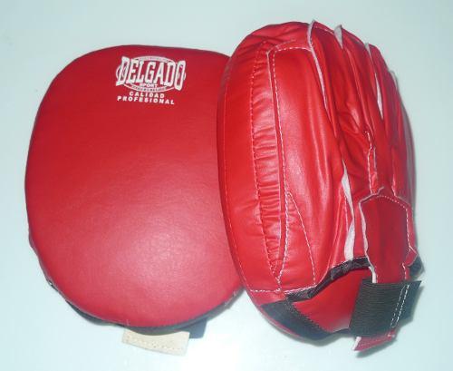 Manoplas Cachagolpes Box Boxeo Vinil Marca Delgado..
