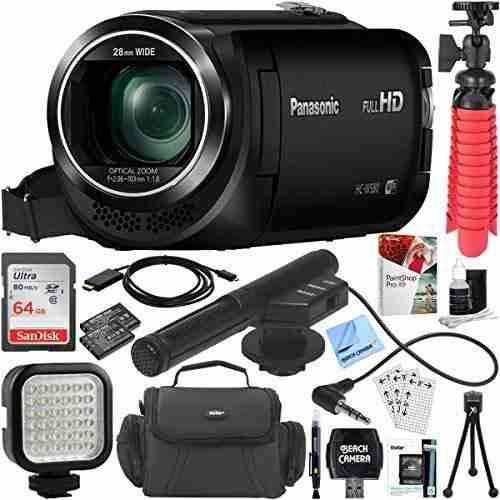 Panasonic Hc-w580k Videocámara Full Hd Con Mini Zoom