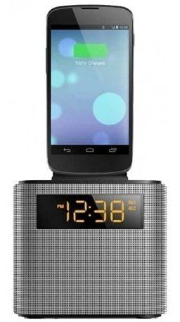 Reloj Despertador Radio Bluetooth Snooze Ajt Philips