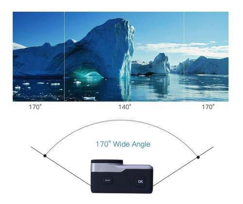 Ultra Hd 4k Wifi Cámara Videocámara De Doble Pantalla