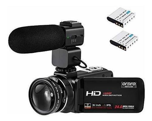 Videocamara De Video Ordro 3.1 Ips Pantalla Tactil Wifi Vi