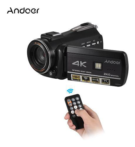 Videocámara Con Cámara De Video Digital Andoer Ac3 4k Uhd