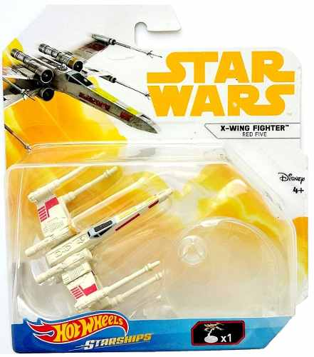 X Wing Fighter Red Five Star Wars Hotwheels Naves Miniatura