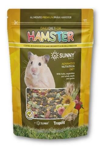 Alimento Para Hamster Premium Roedores Semillas 500 Gr Sunny