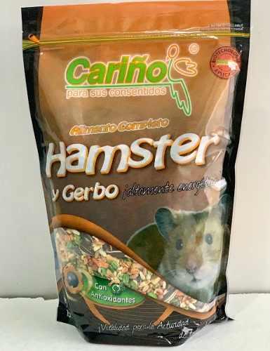 Alimento Para Hamster Y Cuyos Cariño 750grs