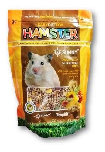 Alimento Premium Para Hamster Semillas 500gr Sunny Pets