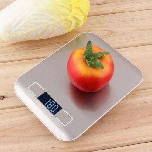 Bascula Digital Tipo Cocina Pesa De 1gr Hasta 5kg
