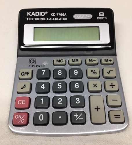 Calculadora Electrónica Kadio Kd-a 8 Dígitos