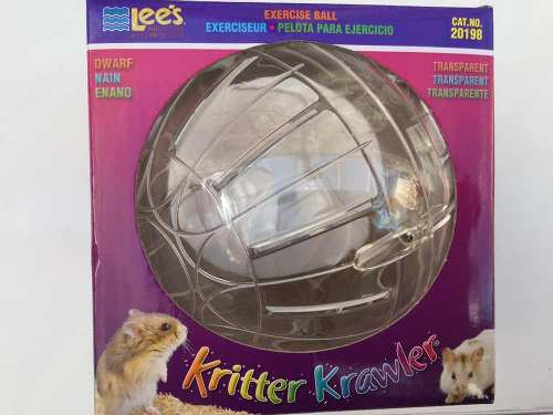 Esfera Para Hamster Chica Transparente