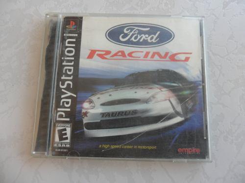 Ford Racing 1 Completo Para Tu Ps1 Juegazo!!! Compatible Ps2