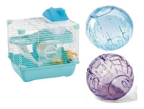 Jaula Hamster Sunny 28.9x22.2x Esferas De 18 Cm