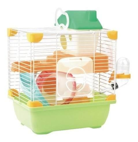 Jaula Plastica Para Hamster Mini Woods Sp-