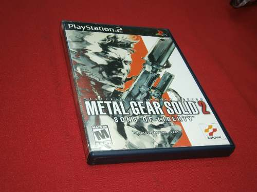 * Longaniza Games * Ps2 Metal Gear Solid 2 Sons Of Liberty