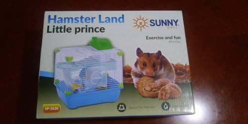 Sunny Jaula Hamster Land Little Prince Spx22.2x30.1