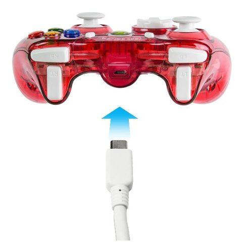 2 Piezas Control Alambrico Rock Candy Xbox 360 Nuevo