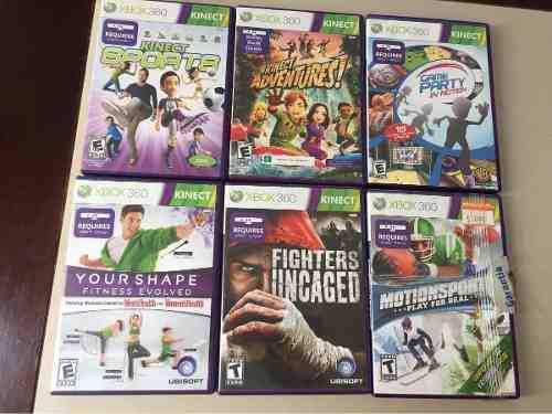 6 Juegos De Kinect Para Xbox 360
