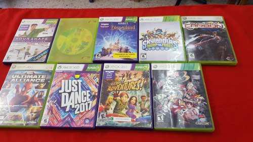 9 Juegos Para Xbox 360 Originales Usados