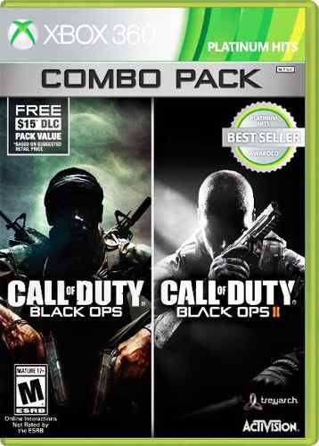 ..:: Call Of Duty Black Ops Combo Pack::.. Para Xbox 360